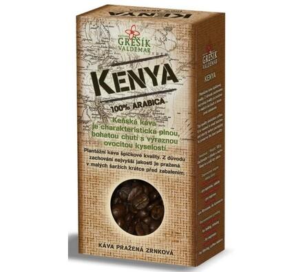 Grešík Kenya káva 100g, černá