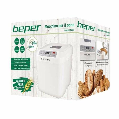 Beper BC130 domácí pekárna, bílá