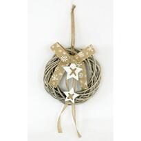 Gloucester karácsonyi fonott koszorú, átmérő : 35 cm