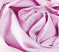 Plátěné prostěradlo na gumu, růžová, 90 x 200 cm