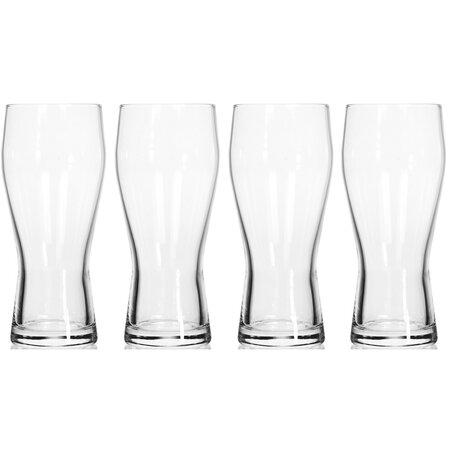 Sada pivných pohárov Excellent 370 ml, 4 ks