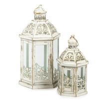 Sada kovových lampášov Indira, 2 ks