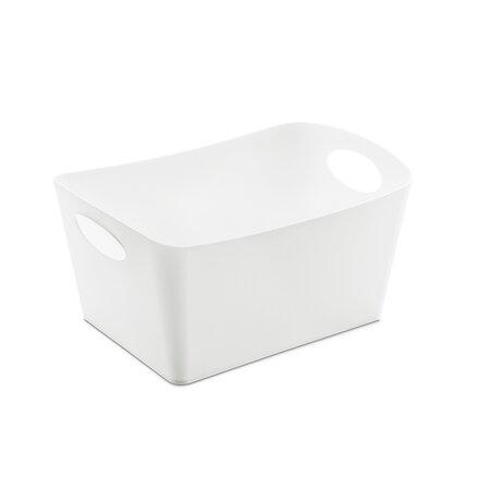 Koziol Úložný box Boxxx bílá, 1 l