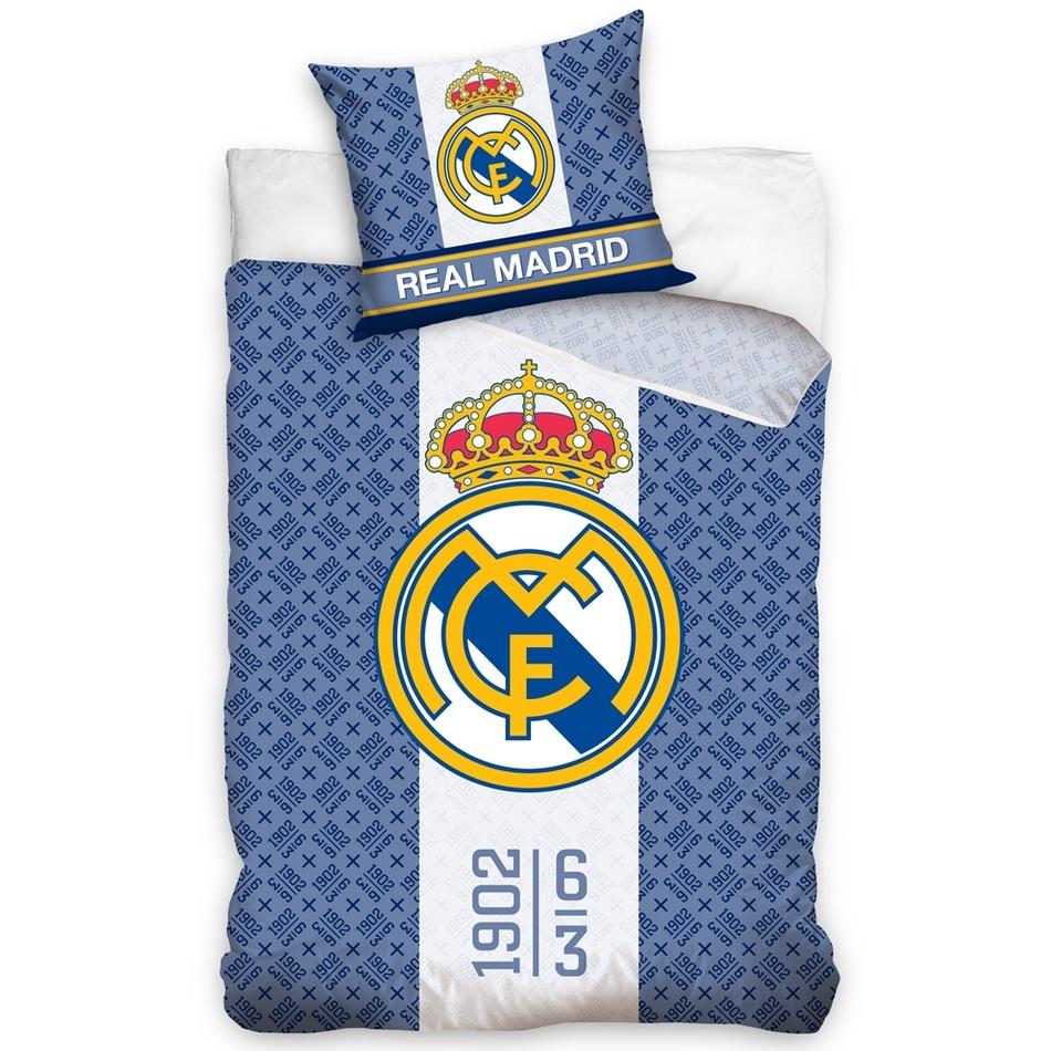 CarboTex Bavlnené obliečky Real Madrid 1902, 140 x 200 cm, 70 x 80 cm