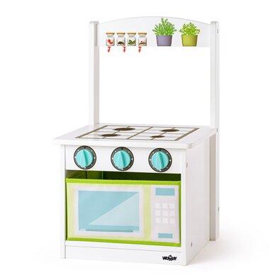 Woody Kuchyňka s židličkou 2v1, 34 x 31,5 x 56 cm