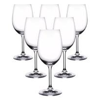 Crystalex 6-częściowy komplet kieliszków na wino LARA, 0,45 l