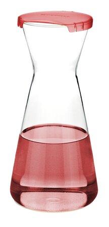 Tescoma Uno Vino karafa 1 l, červená