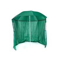 Happy Green Parasol słoneczny ze ścianą boczną, śr. 230 cm