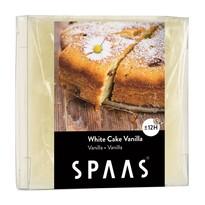 SPAAS Vonný vosk White cake Vanilla, 6 cm