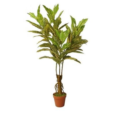 Umělý strom croton 88 cm