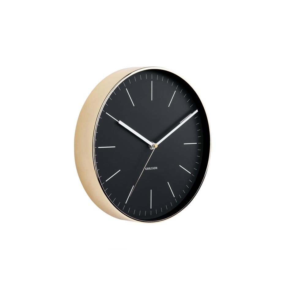 Nástěnné hodiny Karlsson 5695BK