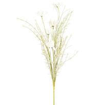 Umělé luční květy 50 cm, bílá