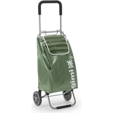 Gimi Flexi nákupní taška na kolečkách zelená