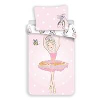 Jerry Fabrics Bavlněné povlečení Ballerina , 140 x 200 cm, 70 x 90 cm