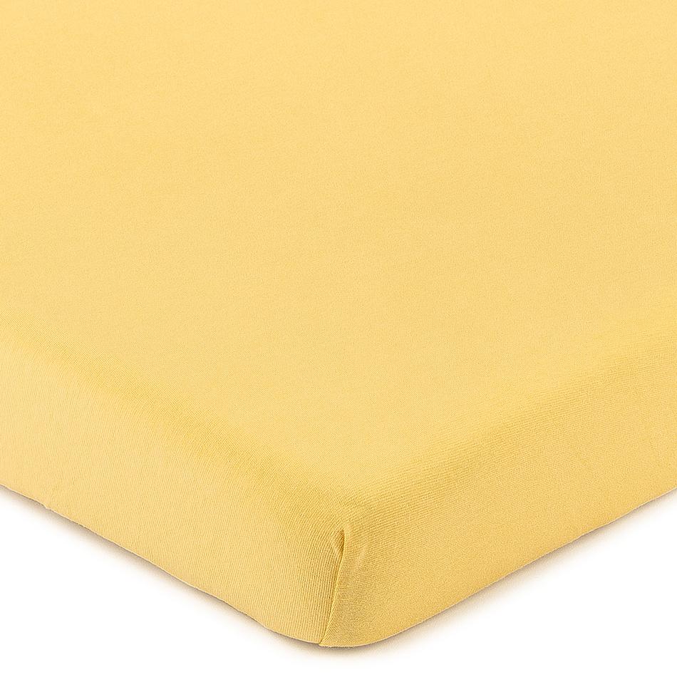 Produktové foto 4Home Jersey prostěradlo s elastanem meruňková, 160 x 200 cm