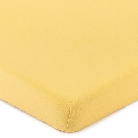 4Home Jersey prześcieradło z elastanem morelowy, 160 x 200 cm