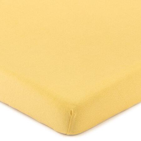 Cearşaf 4Home Jersey, cu elastan, apricot, 180 x 200 cm