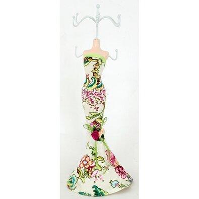 Stojánek na šperky Little dress, béžová