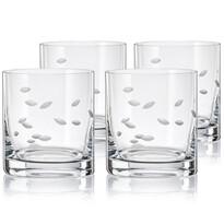 Crystalex CXBR788 Set 4 pahare de whisky, 280 ml