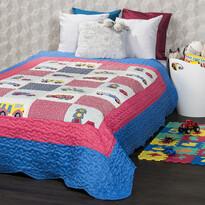 4Home Narzuta na łóżko dla dzieci Cars, 140 x 200 cm