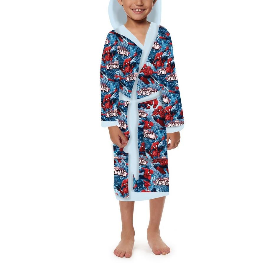 Jerry Fabrics Detský župan Spiderman, 6 - 8 rokov, 6 - 8 rokov