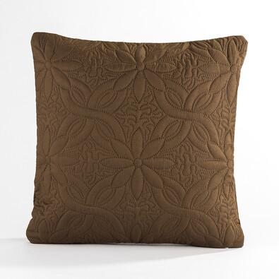 Povlak na polštářek Vigo hnědá, 40 x 40 cm