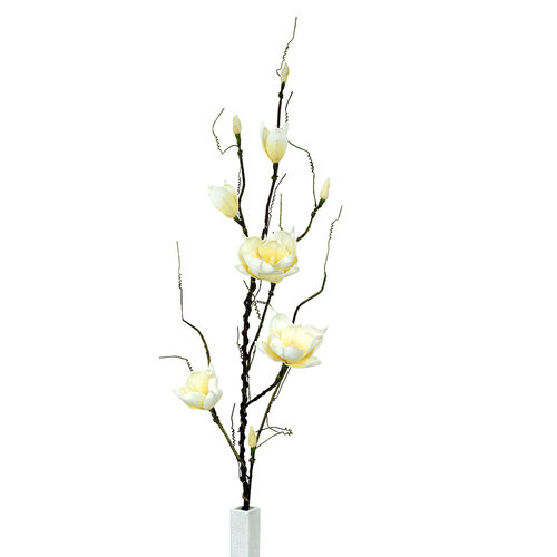 Umelá kvetína magnólia žltá, 125 cm