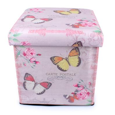 Skládací sedací box Motýli