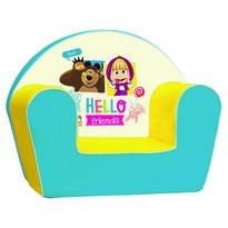 Bino fotel, Mása és a medve, 42 x 52,5 x 32,7 cm