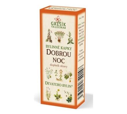 Dobrou noc bylinné kapky Grešík 50 ml