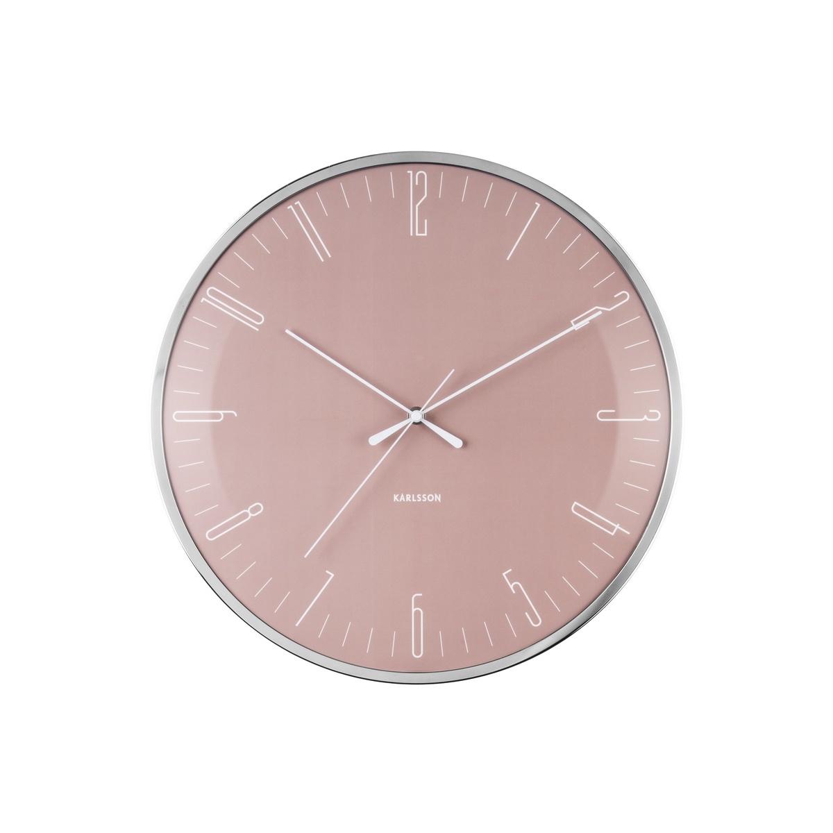 Nástenné hodiny Karlsson Dragonfly Dome glass KA5754PI, 40cm