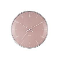 Karlsson KA5754PI Designové nástěnné hodiny, 40 cm