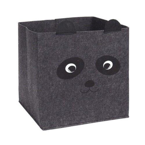 Dekoračný košík Hatu Panda, 32 x 32 x 32 cm