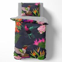 Lenjerie de pat din bumbac Towee Floral, 140 x 200 cm, 70 x 90 cm