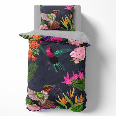 Towee Bavlněné povlečení Floral, 140 x 200 cm, 70 x 90 cm