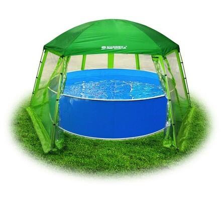 Zastřešení, Marimex, Pool House, zelená, pr. 366 cm