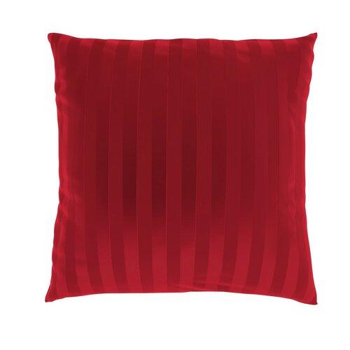 Față de pernă Stripe roșie, 40 x 40 cm