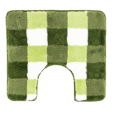 WC predložka Vichy Meusch zelená, 55 x 50 cm