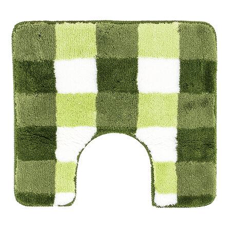 WC předložka Vichy Meusch zelená, 55 x 50 cm