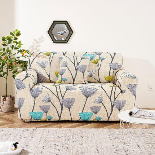 4Home elasztikus kanapéhuzat Nature, 190 - 230 cm