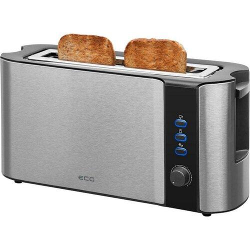 ECG ST 10630SS Stainless kenyérpirító, rozsdamentes acél