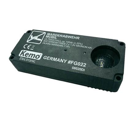 Přenosný odpuzovač kun 12,4 x 5,1 x 2,5 cm černá