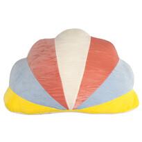 Pernă cu formă aparte Nor colorat, 45 x 30 cm