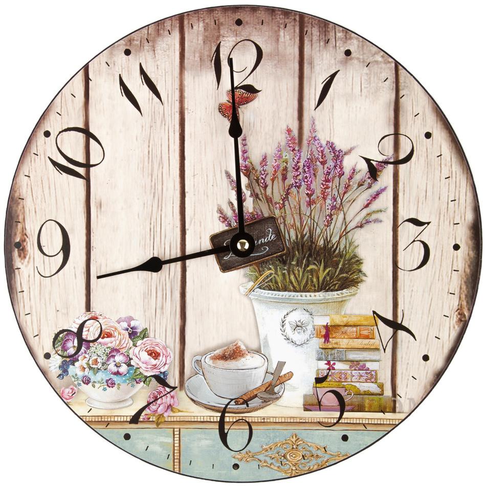Fotografie Nástěnné hodiny Lavender, 30 cm