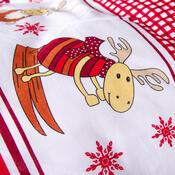 4Home Bavlnené obliečky Sobíky, 140 x 200 cm, 70 x 90 cm