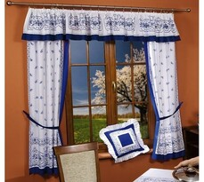 Hagyma mintás függöny, 300 x 180 cm