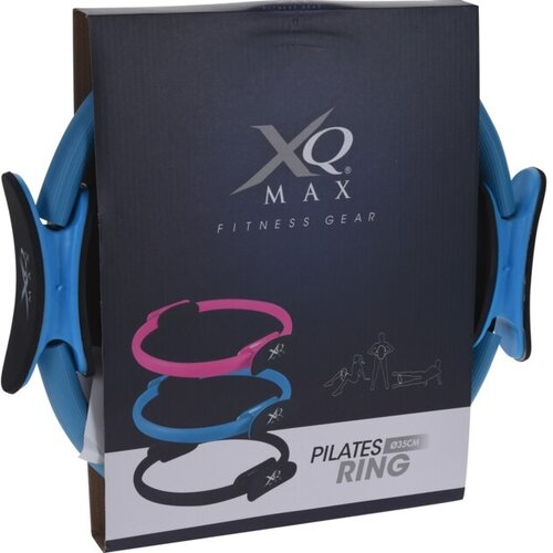 XQ Max Obręcz do pilates, różowy, 35 cm