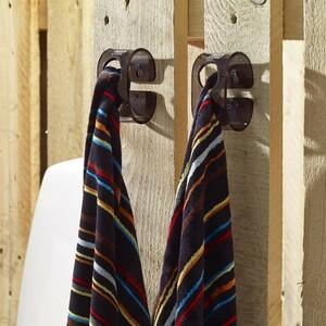 Věšák B-Hooked pro ručník či utěrku, šedý