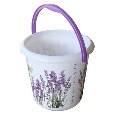 Kbelík DECO-bucket Lavender 10l