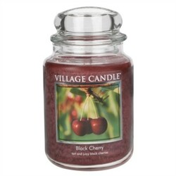 Village Candle Vonná sviečka Čierna čerešňa - Black Cherry, 645 g